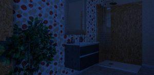 exposicion de muebles de baño
